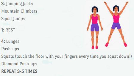 Pi day exercise routine