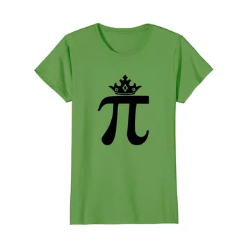 Queen of pi t-shirt