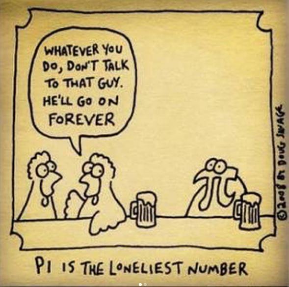 Selection Of Math Jokes And Pi Jokes [ Math Can Be Fun Too