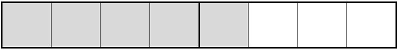 A diagram showing 5/4